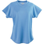 AUG571 Ladies Wicking V Neck