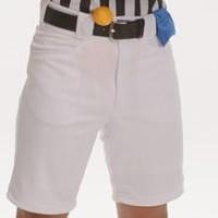 White Ref Shorts