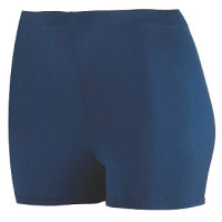 AUG1210 Ladies Poly Spandex 2.5 Short
