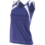 AUG313 Ladies Wicking Tank with Shoulder Inserts