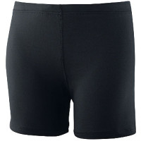 AUG742 Ladies Poly Spandex 4 Short