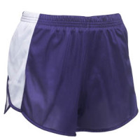 TW4541 Ladies Track Short with Side Panel