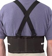 MU252 Back Support with Suspenders