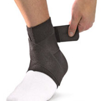 MU965 Ankle Support with Straps